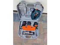 Black & Decker VP2000 Versapak Quattro Drill, Jigsaw, Sander, GWO but missing charger.