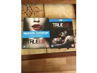 TrueBlood seasons 1 & 2 Bluray