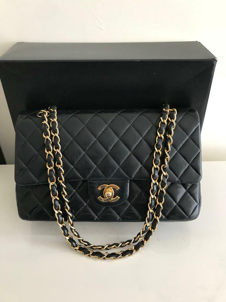 cfde10eb6164 Chanel Classic Double Flap Bag Genuine Authentic