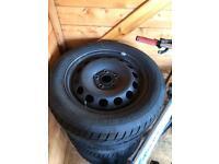 Winter steel wheels #Offers# with 205/55/16 Vredestine Wintrac Xtreme S VW Audi Seat Skoda