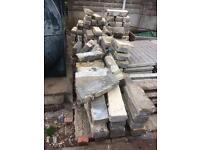 Free to collect concrete blocks rubble hardcore