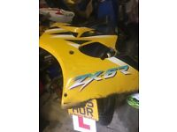 zx6r j2 left hand yellow panel