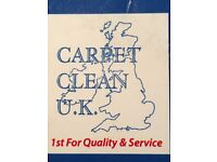 "CARPET CLEAN U.K. ""CARPET AND UPHOLSTREY CLEANERS"""
