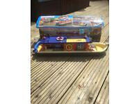 Sylvanian Family waterside canal boat