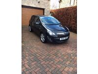 Vauxhall Corsa 1.4 SXI in black 5 door