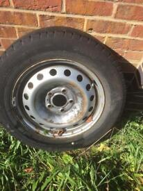 Primastar wheel and tyre road legal