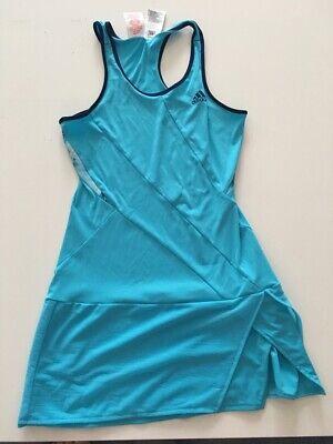 Tennis Kleider (Adidas Tennis Kleid  (tennis dress), blau (blue), Größe (size) 152)
