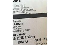 Selling 2 tickets to see Jason derulo in Leeds Sept