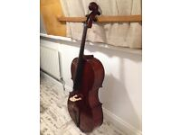 4/4 full size Schroetter cello