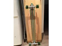 APOLLO pintail long board natural wood/green