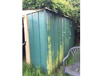 Metal shed needs some TLC