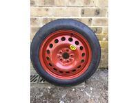 125/80 Spare Wheel + Wheel Cover - UNUSED