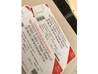 Anthony Joshua tickets for tonight!