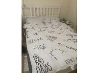 Ikea standard king size bed + mattress