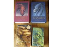 Full set of 4 books, The Inheritance Cycle by Christopher Paolini