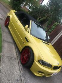 BMW M3 SMG STUNNING CONDITION COMES WITH PRIVATE NUMBER PLATE