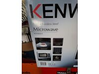 Brand new still in unopened box Kenwood 900w microwave