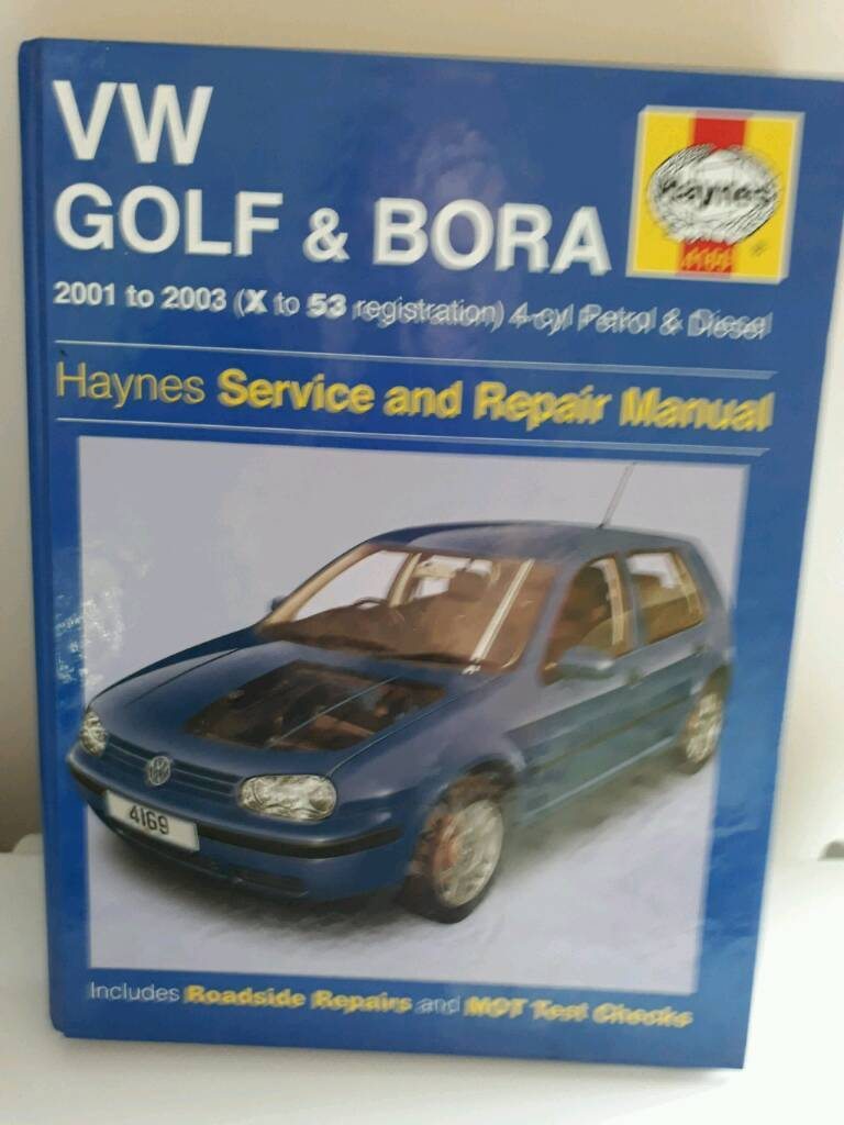VW Mk4 Golf & Bora Haynes Manual