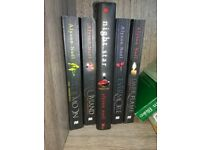YA Novels 'The Immortals Series' books 1-5