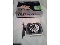 MSI Gforce GT730 4GBDDR3