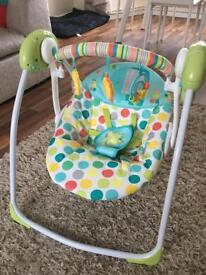 Chad Valley Baby Swing Seat Auto swing
