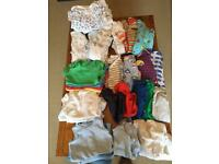 3-6 month bodysuit and sleepsuit bundle 40+ Items