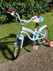 Apollo CherryLane Girls Bike 15 inch wheels - good condition