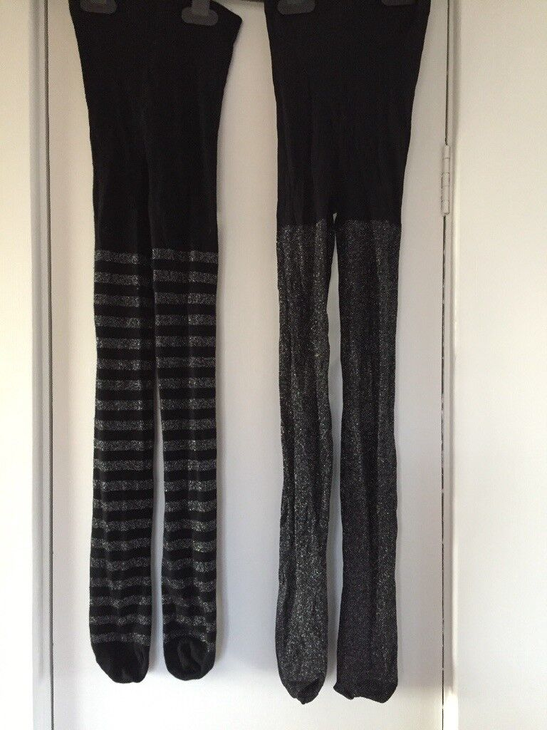9dea8cbe20237 2 pairs of M and S party tights age 9-10   in Harrogate, North Yorkshire ...