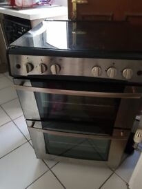 Belling double gas oven with gas grill 60cm wide