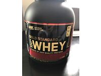 Optimum Nutrition Gold Standard 2.2Kg Whey Chocolate Protein (UNOPENED)