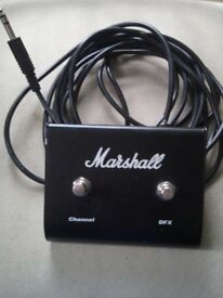 Marshall 2 way switch channel/dfx