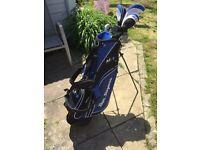 Golf Clubs & ShoulderBag/Stand