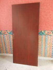 Solid Blockboard Flush Exterior Door, or Top for Worktable