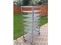 8 tier stainless steel shelving