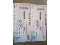 Drake Hydro Glasgow PAIR 2 seated adjacent tickets - great seats!
