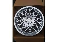 "Brand new 18"" WC MA1 alloy wheels 5x112 audi VW merc seat"