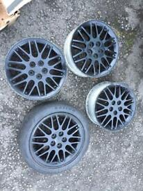 "Vw golf vr6 alloys bbs 16"" 5x100"