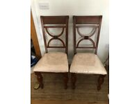 NEW: Pair of Wooden Chairs