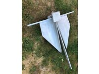 Danforth anchor approx 16Kg new unused