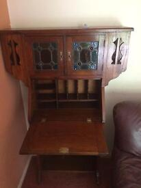 A writing desk and a dressing table both in good condition