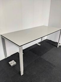 FREE SAME-DAY DELIVERY - BENE Height Adjustable Office Desk, 1800mm Wide