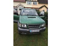 Isuzu Trooper 3.0TD Citation 4x4. 11 months MOT - SPARES OR REPAIR