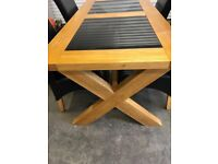 Solid Oak Dining Table 180 x 91cm