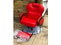 Reclining Barbers chairs