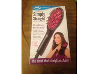 Jml hair straightening brush