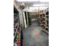 2 front shop for sale running business