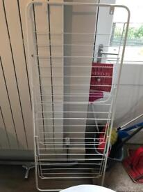 Airer / clothes rack - wall hanging, three racks