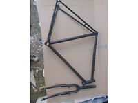 Road,fixie,1 speed bike frame+fork