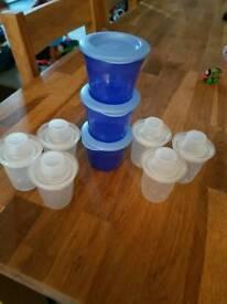 Baby pots milk pots and food pots
