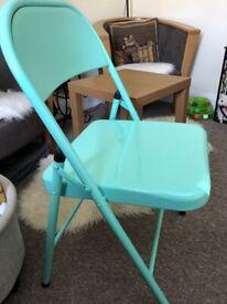 'Harbour' Metal Folding Chair